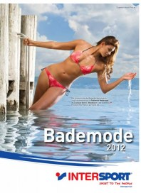 Intersport Bademode 2012 April 2012 KW16