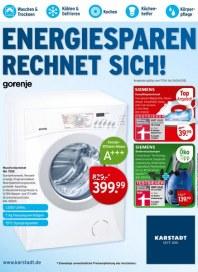 KARSTADT Karstadt Technik - Energie sparen April 2012 KW16