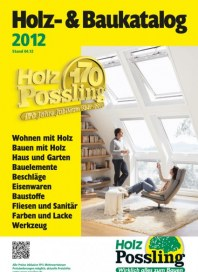 Holz Possling Holz- & Baukatalog April 2012 KW16
