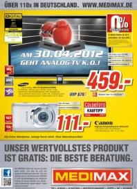 MediMax Unser wertvollstes Produkt ist gratis April 2012 KW16 7