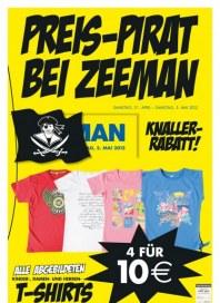 Zeeman Preis-Pirat bei Zeeman April 2012 KW16