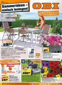 OBI Sommerideen - einfach loslegen Mai 2012 KW18