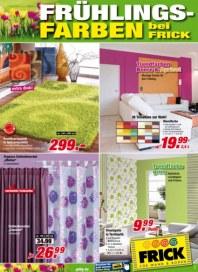 Frick für Wand & Boden Frühlingsfarben Mai 2012 KW18