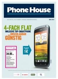 Phone House Alle Netze, alle Handys, riesige Zubehörauswahl Mai 2012 KW18