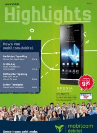 mobilcom-debitel Highlights - Mai Mai 2012 KW18